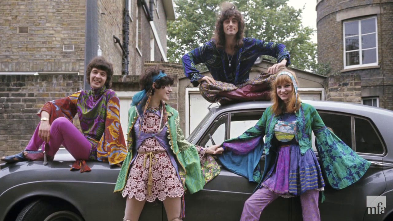 Modern hippie clothes for men