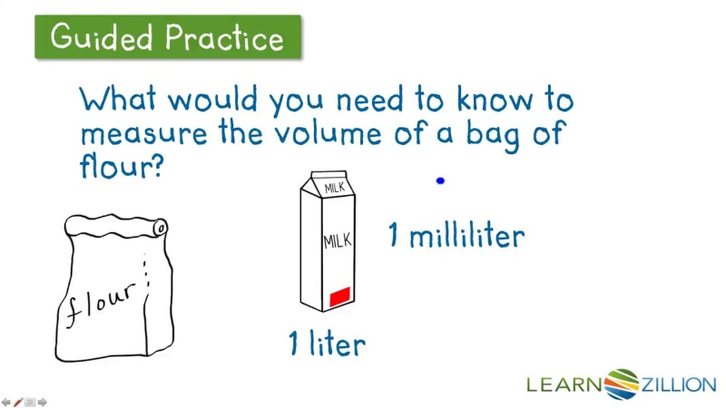 Understand Volume And How Volume Is Measured LearnZillion