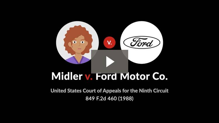 Midler v. Ford Motor Co.