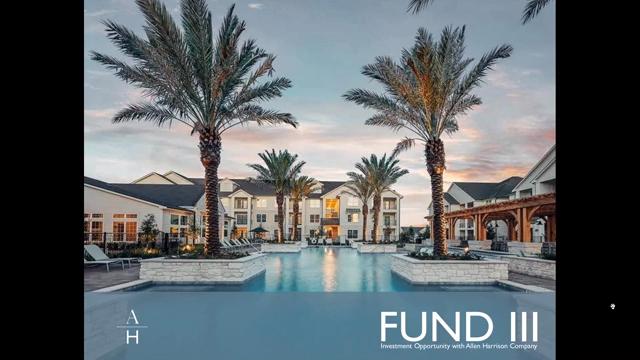 Investment Video - Allen Harrison Multifamily Fund III, LP
