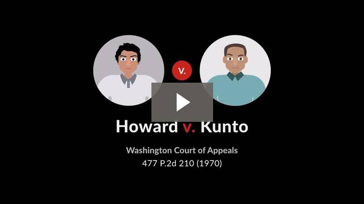 Howard v. Kunto