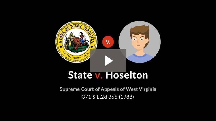 State v. Hoselton