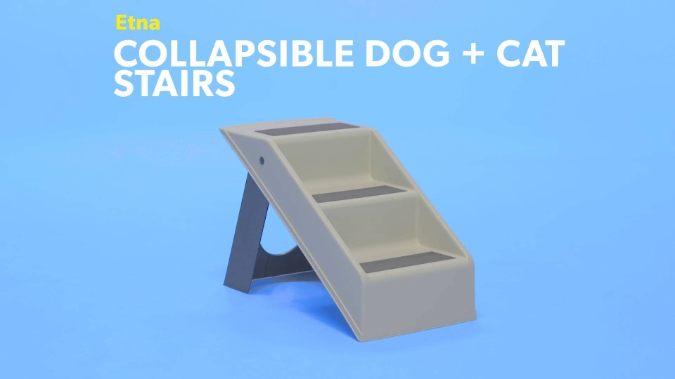 Pleasing Etna Collapsibledogcatstairs Pet R0 V1 Gmtry Best Dining Table And Chair Ideas Images Gmtryco