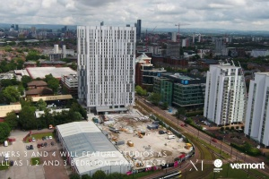 X1 Media City - Drone Footage - July 2019