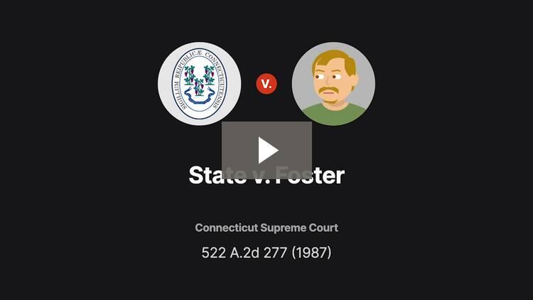 State v. Foster