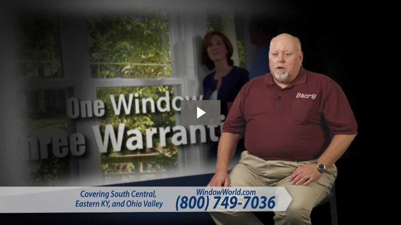 Window World of East Kentucky - Lifetime Warranty