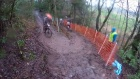 Riders brave difficult conditions in cycle event