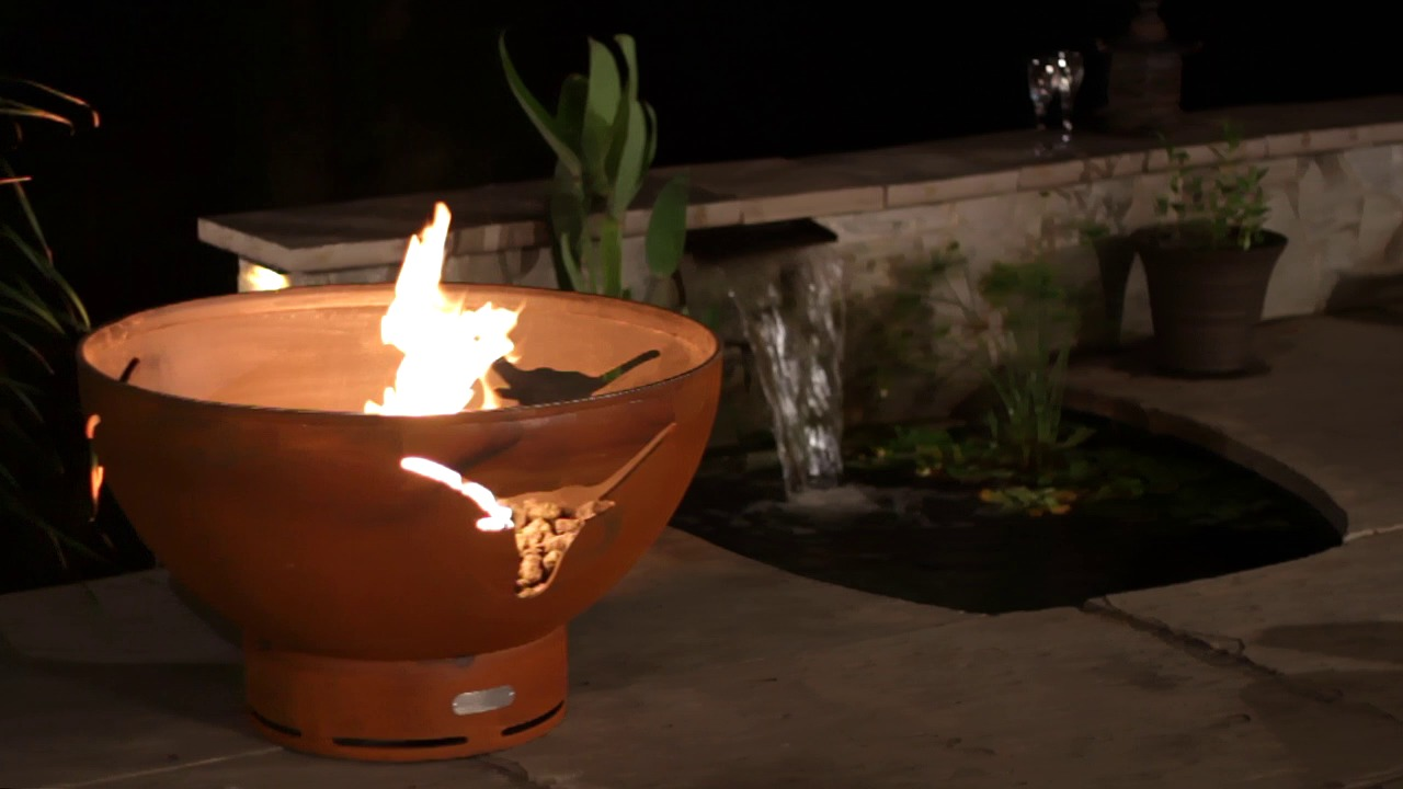 firepit-art-gas-longhorn