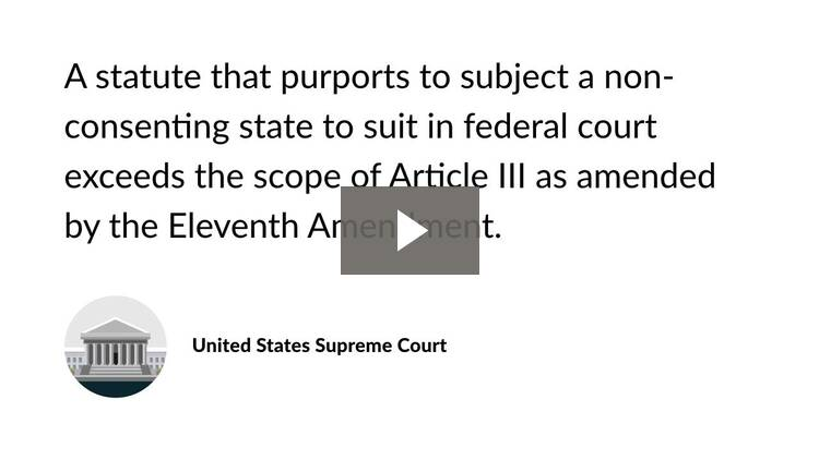 Article III and Federal Jurisdiction