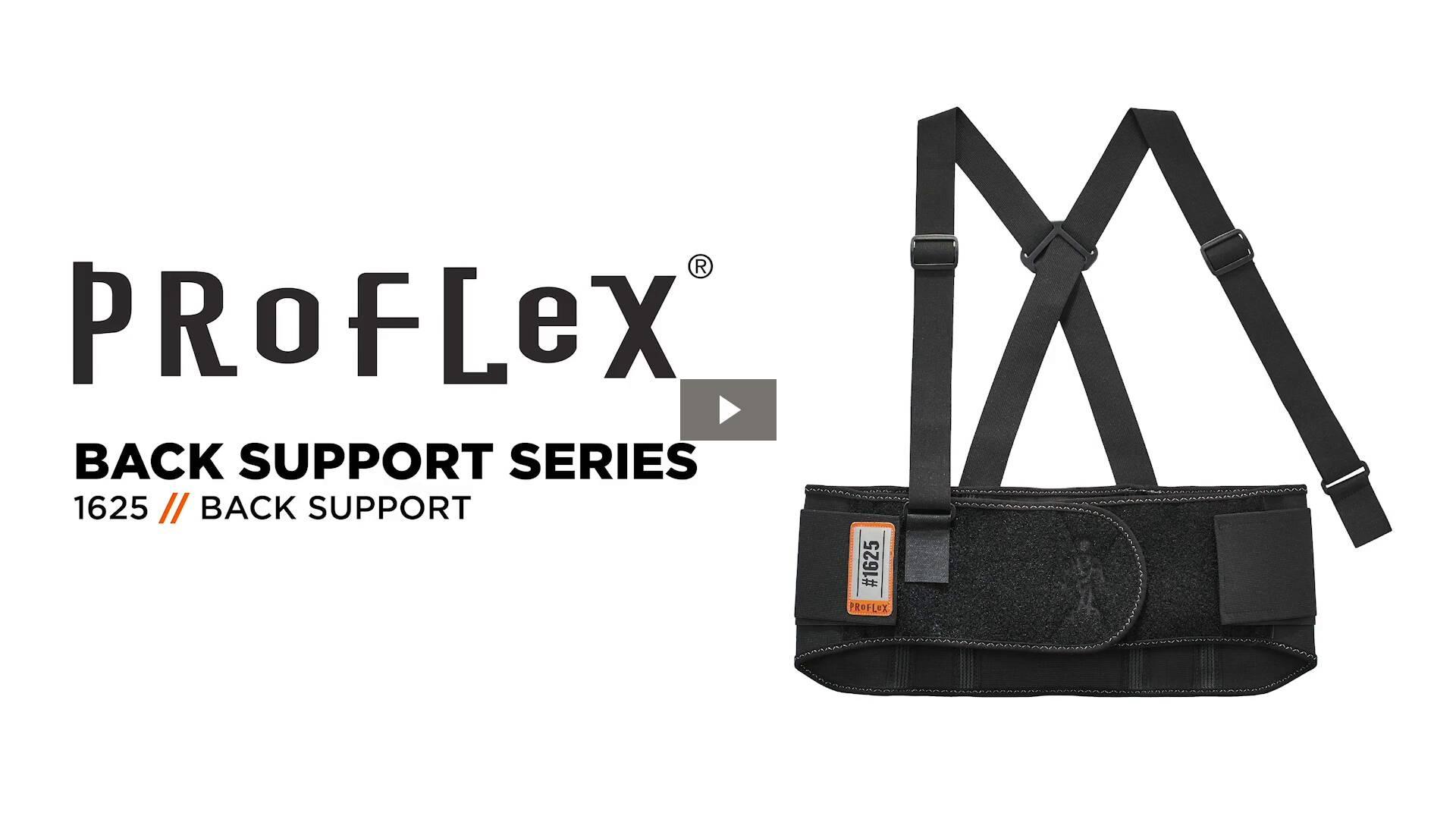 Ergodyne Product Video - ProFlex<sup>®</sup> 1625 Elastic Back Support Brace
