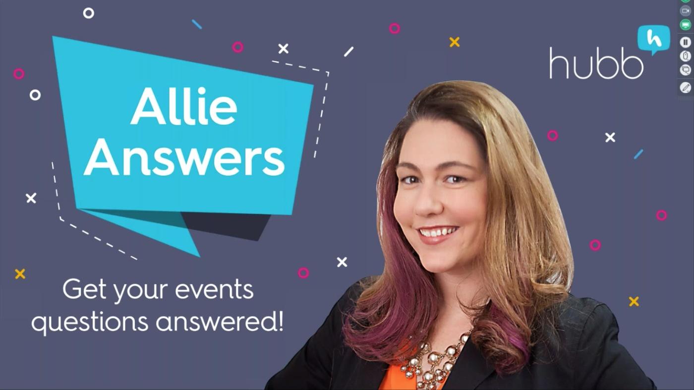Allie Answers Webinar
