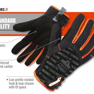 Ergodyne Product Video - ProFlex<sup>®</sup> 815 QuickCuff<sup>™</sup> Utility Gloves