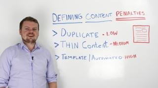 Understanding Google Content Penalties