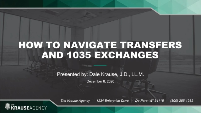 How to Navigate Transfers and 1035 Exchanges