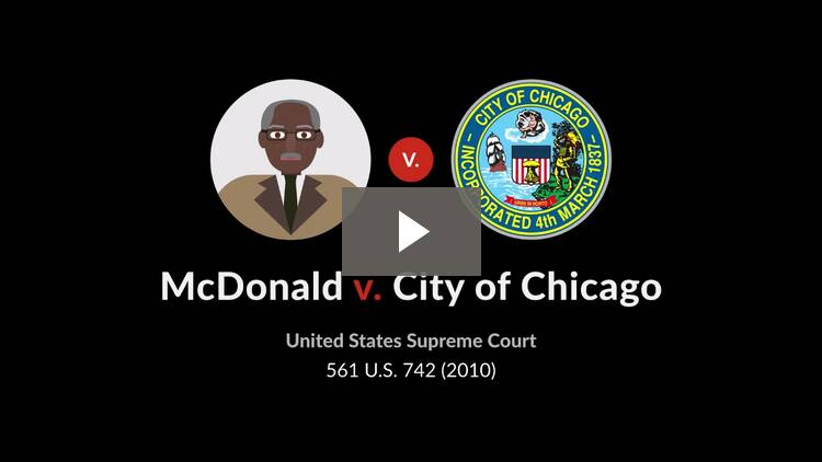 McDonald v. City of Chicago
