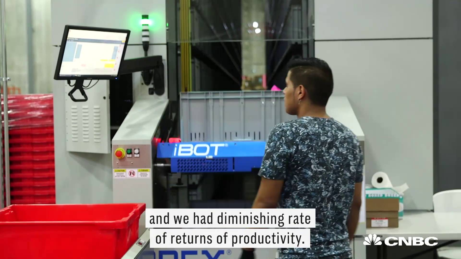 According to Boxed's founder and CEO, Chieh Huang, automating their Union City, New Jersey fulfillment center has resulted in a 6 to 7 times improvement in their picking productivity.
