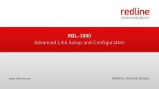 RDL-3000 Advanced Link Setup and Configuration