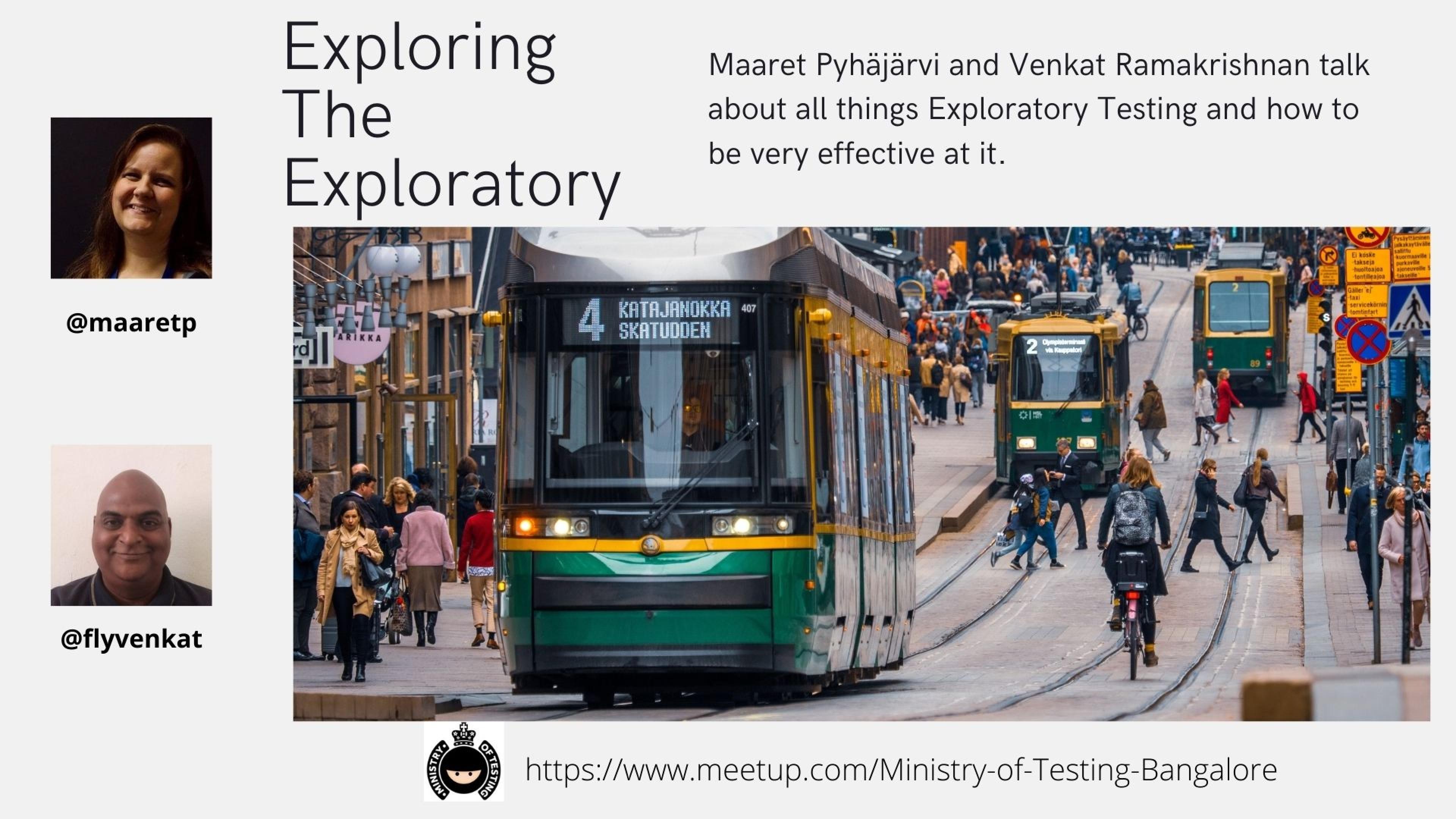 Exploring the Exploratory with Maaret Pyhäjärvi