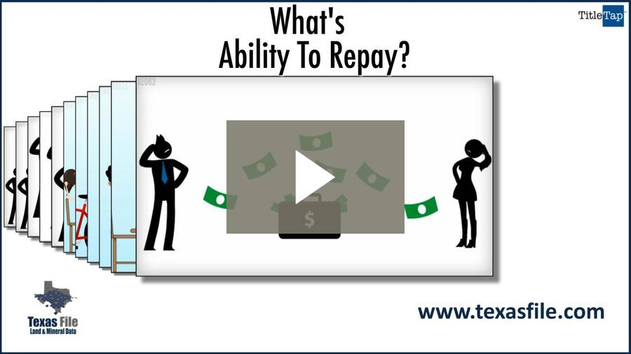 What Is Ability To Repay?
