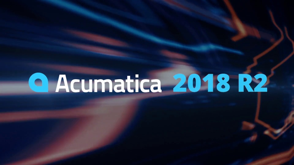 Acumatica 2018 R2 Launch Event