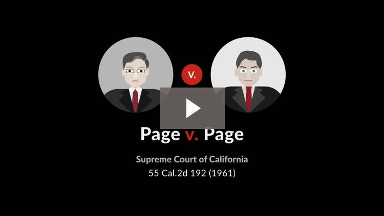 Page v. Page