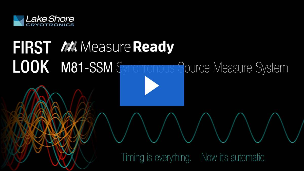 M81-SSM Synchronous Source Measure System: First Look