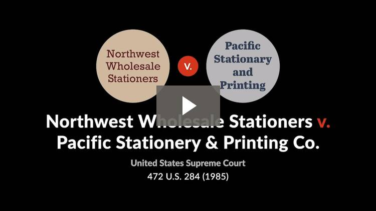 Northwest Wholesale Stationers, Inc. v. Pacific Stationery & Printing Co.