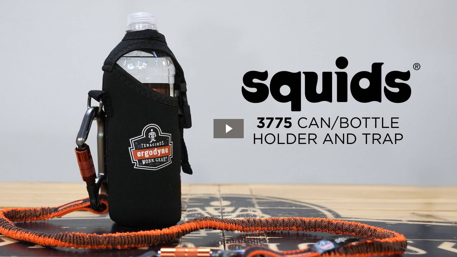 Ergodyne Product Video - Squids<sup>®</sup> 3775 Can / Bottle Holder & Trap