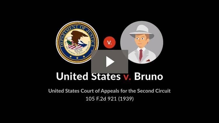 United States v. Bruno