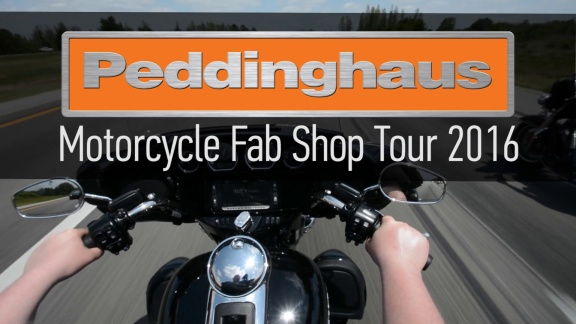 Motorcycle Fab Shop Tour 2016