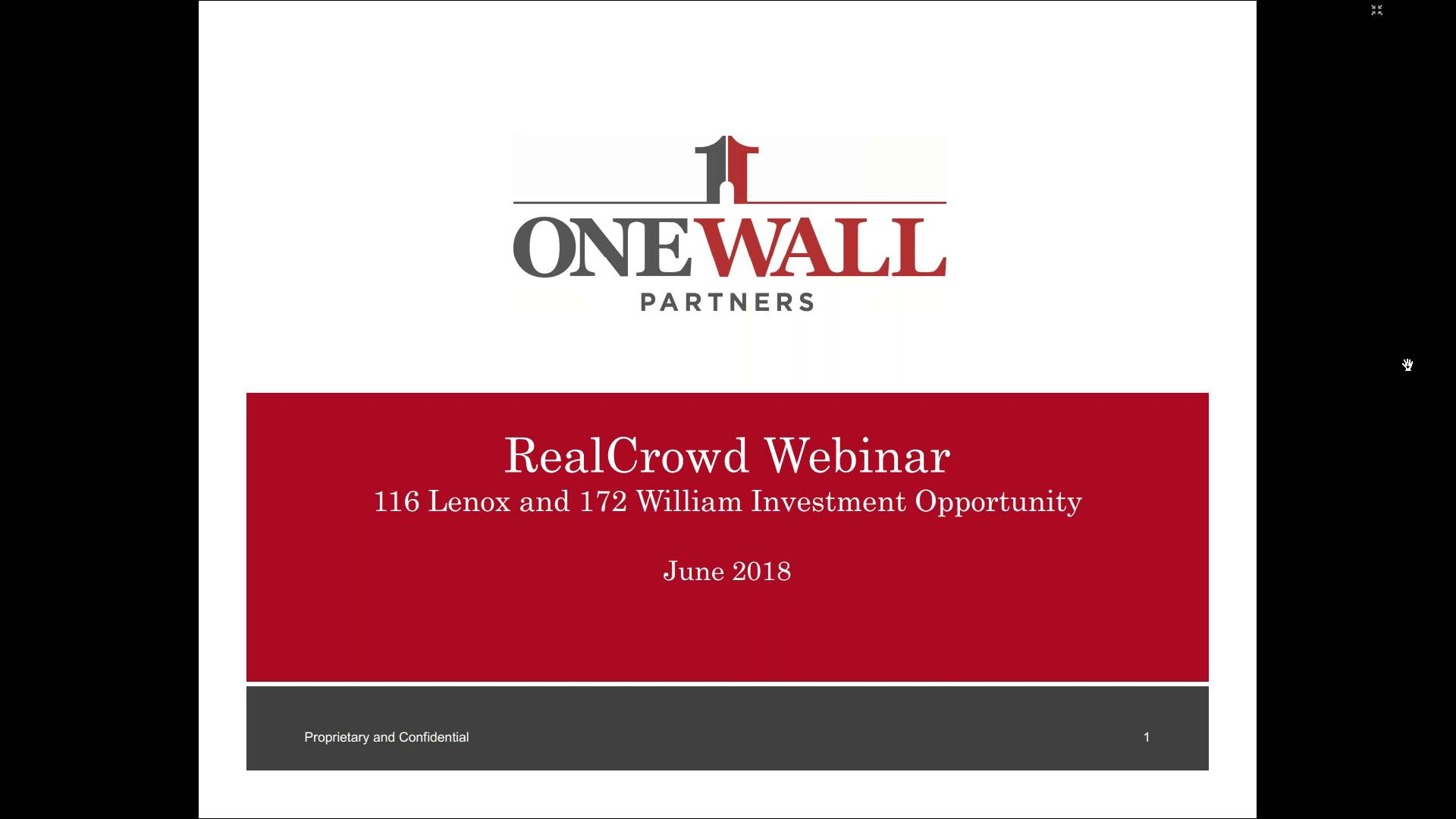Investment Video - 172 William Street