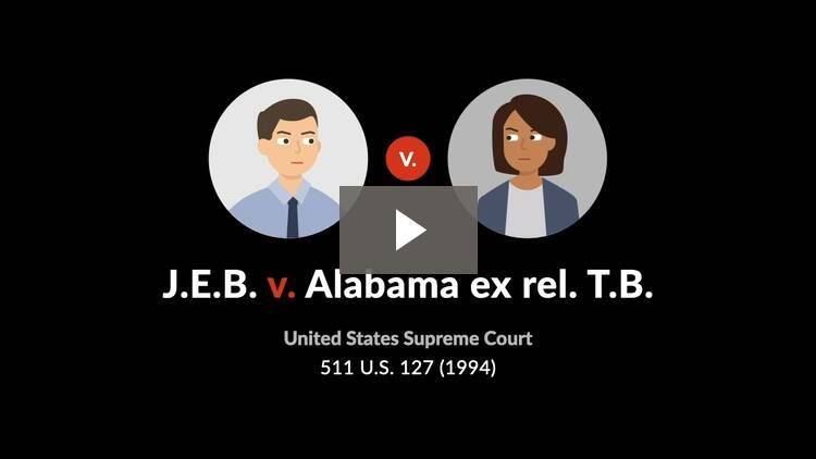 J.E.B. v. Alabama ex rel. T.B.