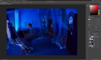 Thumbnail for The Blue Room / Photoshop-Layer Blending