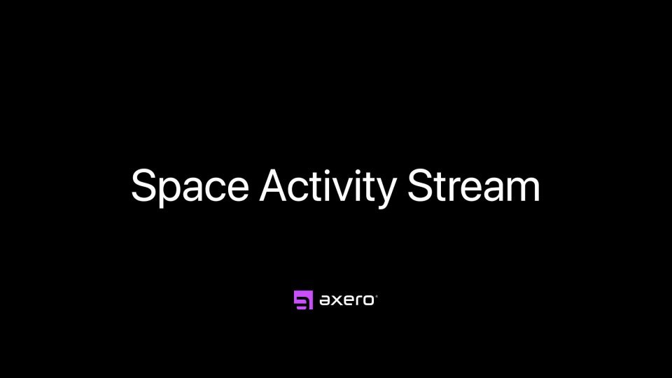 Space Activity Stream