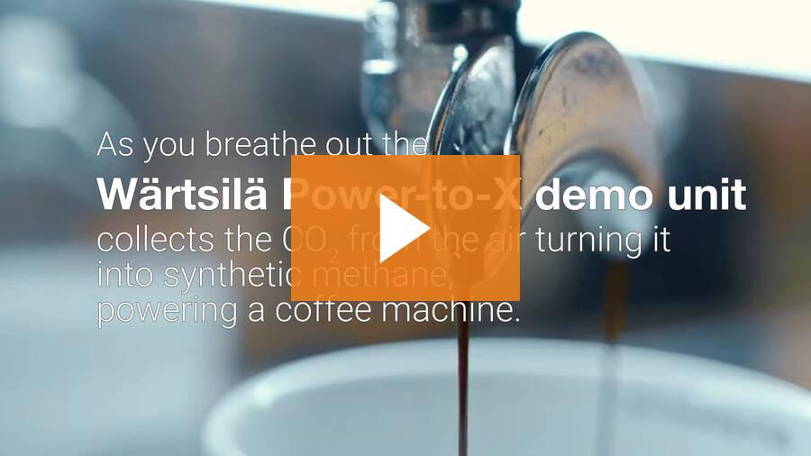 Brewing coffee with thin air - Wärtsilä & Paulig collaboration in World Expo