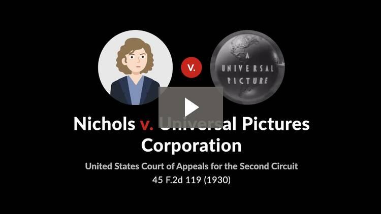 Nichols v. Universal Pictures Corporation