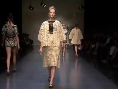 Vestidos de fiesta Dolce & Gabbana 2013
