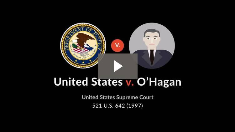 United States v. O'Hagan