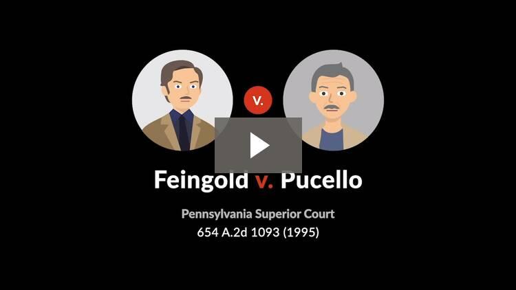 Feingold v. Pucello