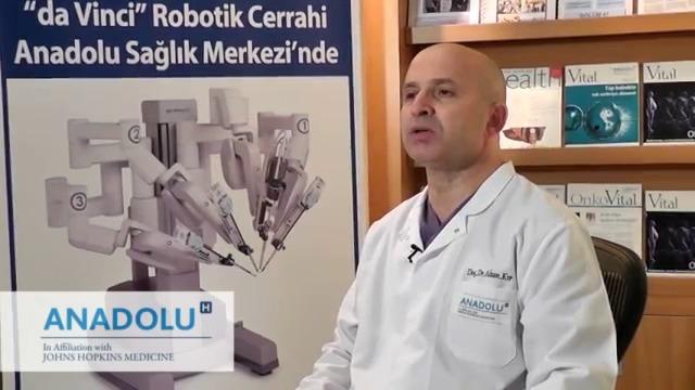 Robotik cerrahi akciğer kan...