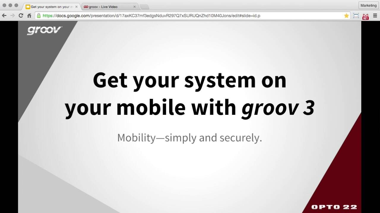 webinar: get your system on your mobile with groov 3