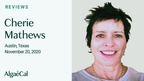 Testimonial thumbnail portrait of Cherie Mathews