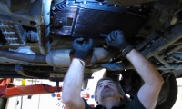 Transmission Service On A Range Rover Full Size video screen shot