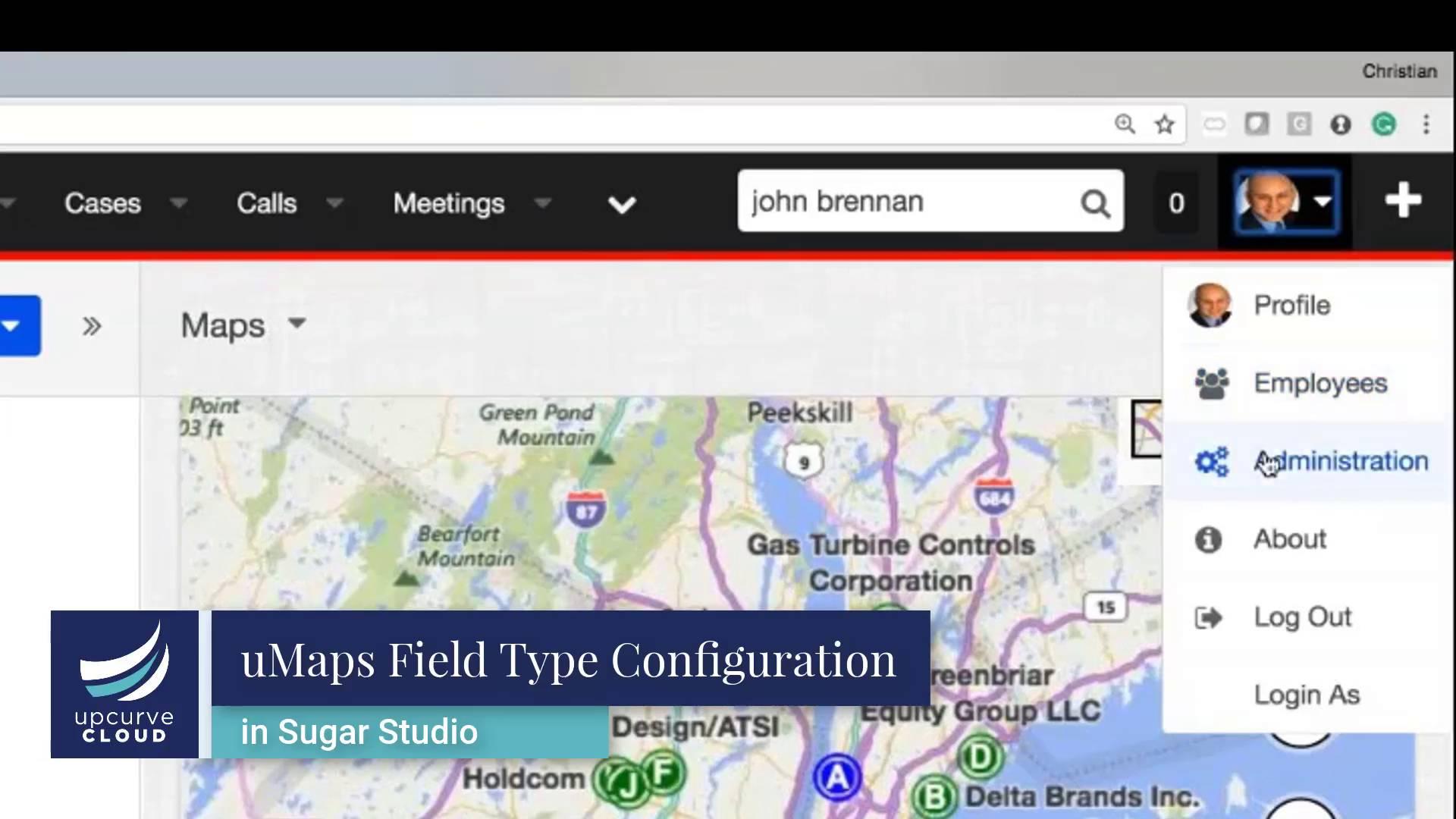 uMaps Sugar Integration to Bing Maps