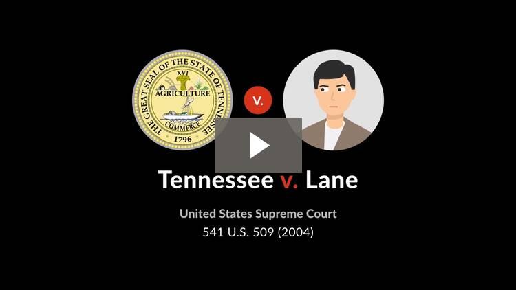 Tennessee v. Lane