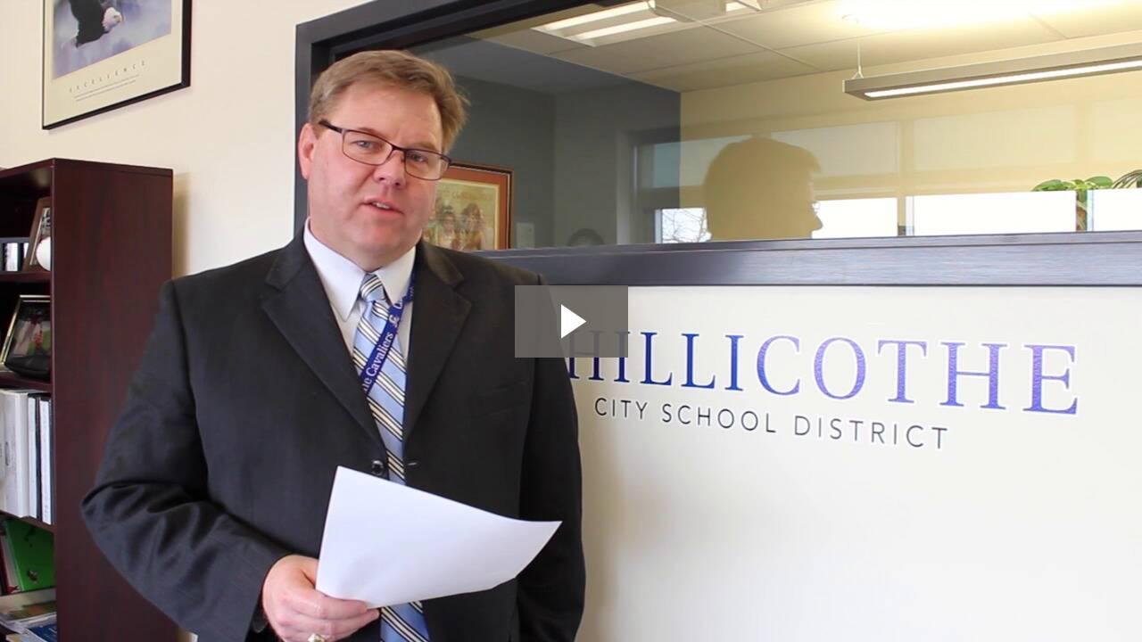 Jon Saxton, Chillicothe City Schools Superintendent