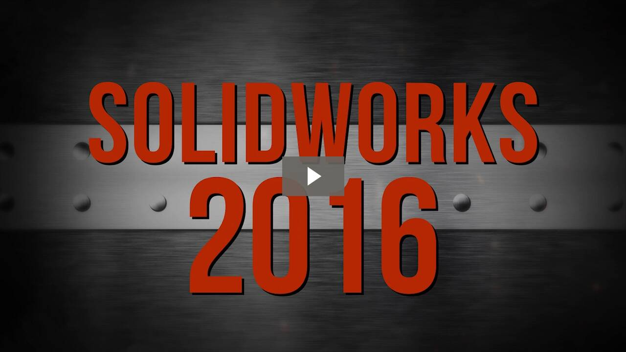 SOLIDWORKS 2016 Countdown