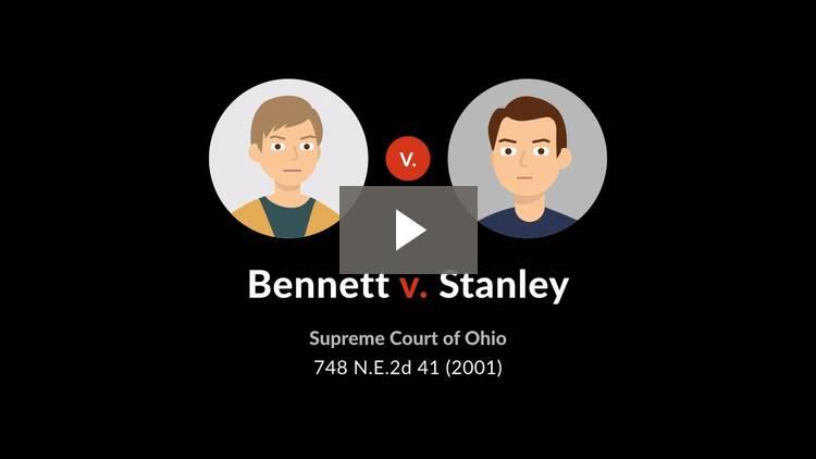 Bennett v. Stanley