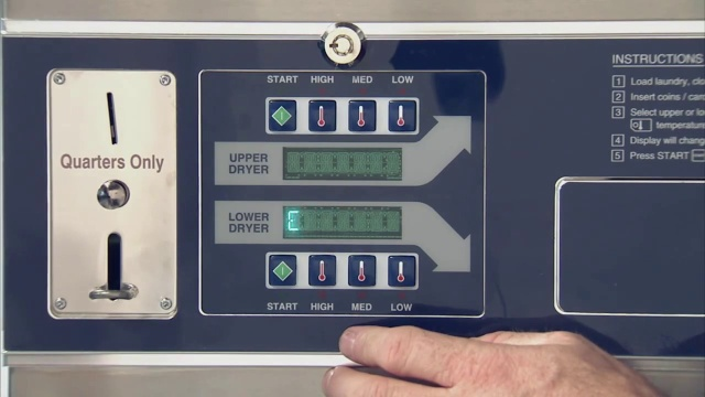 Programming the Dexter C-Series Stack Dryer Control