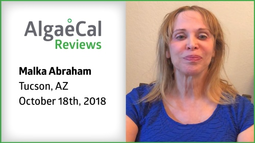 Testimonial thumbnail portrait of Malka Abraham